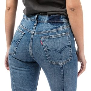 Denim - NWT Levi's 501 Altered High Waisted Skinny Jeans